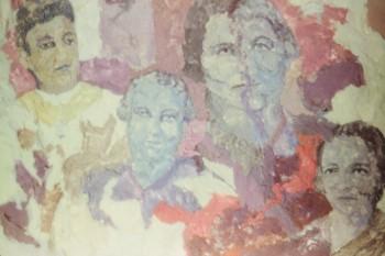 Lint on Museum Board